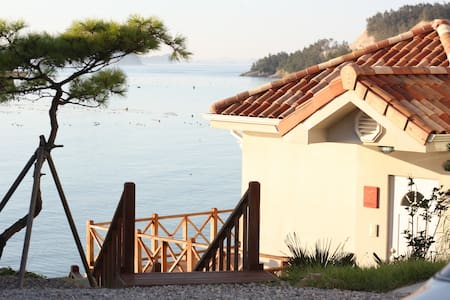 Look at the most beautiful sunset  - Jindo-gun - House