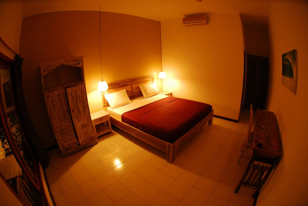Rooms with AC/POOL JIMBARAN BEACH1