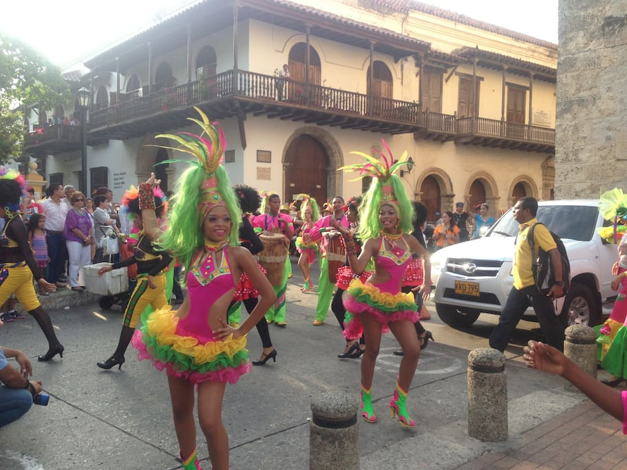 This is Cartagena!! This is Colombia!!!