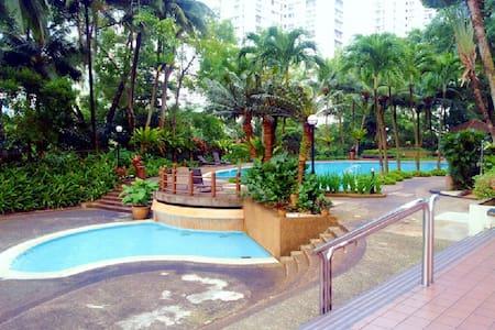 Resort Feel. Relaxing Space to Unwind in KL - Kuala Lumpur - Wohnung