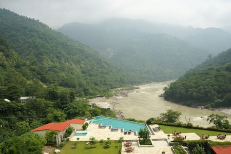 1 BR apartment - Scenic Himalayas and Ganges - Apartament