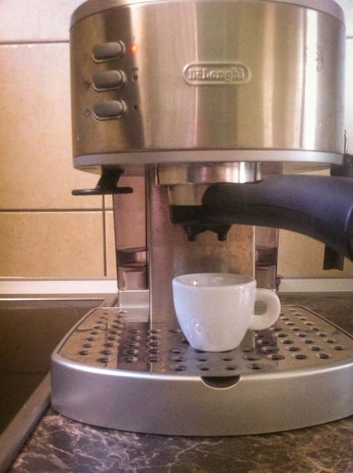 Nothing can beat fresh espresso in the morning.