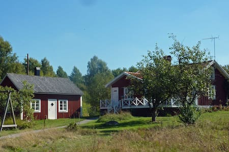 Two cottages in beautiful Smaland - Ryd