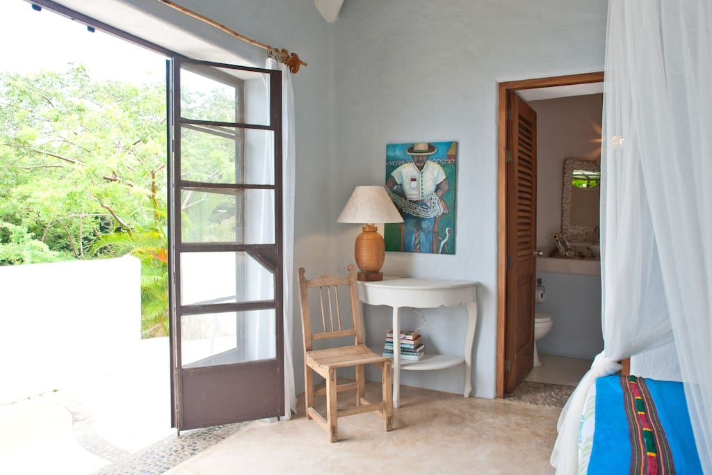 Casita Azul,upper level, spectacular views.