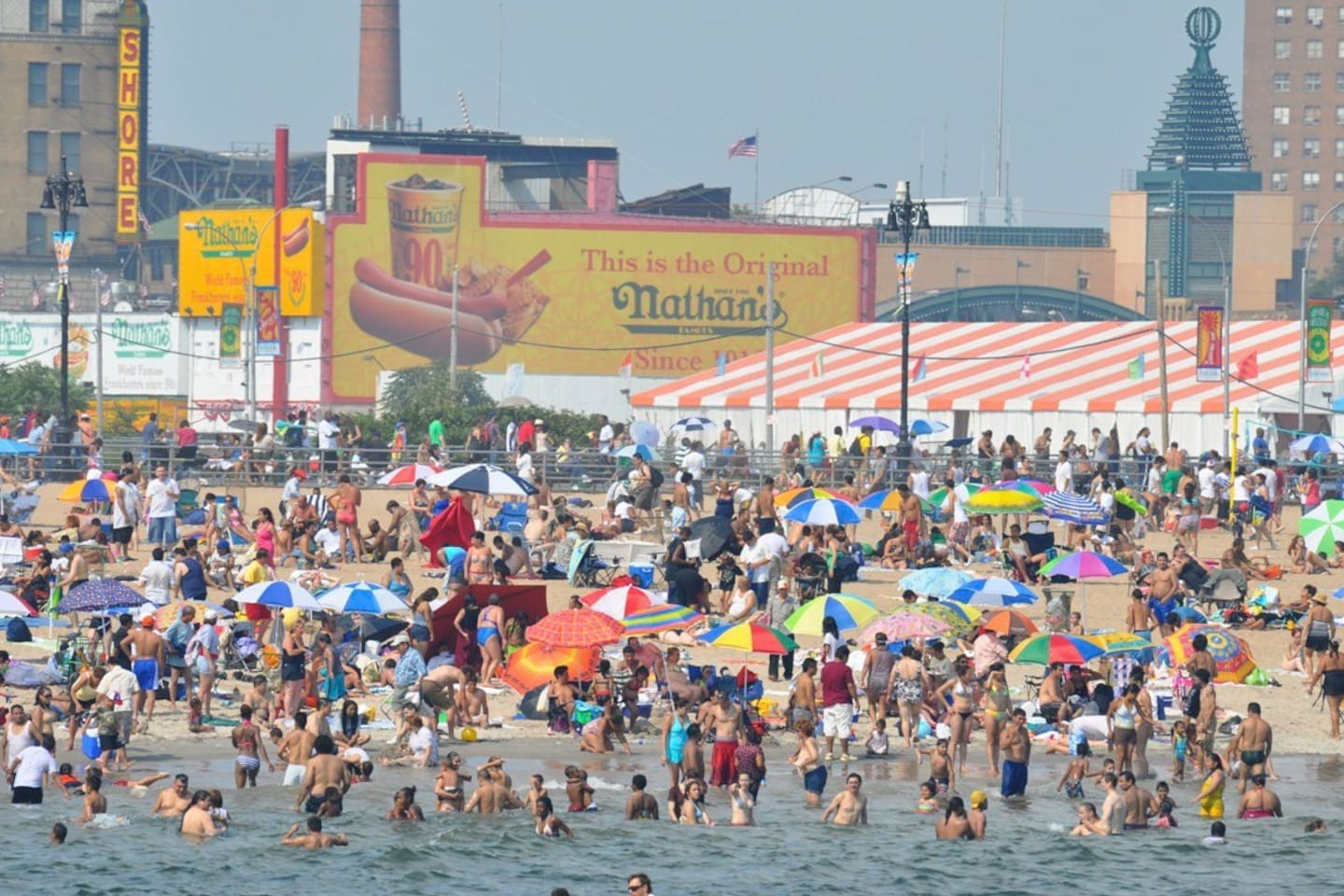 Our one and only World Famous Coney Island Beach.