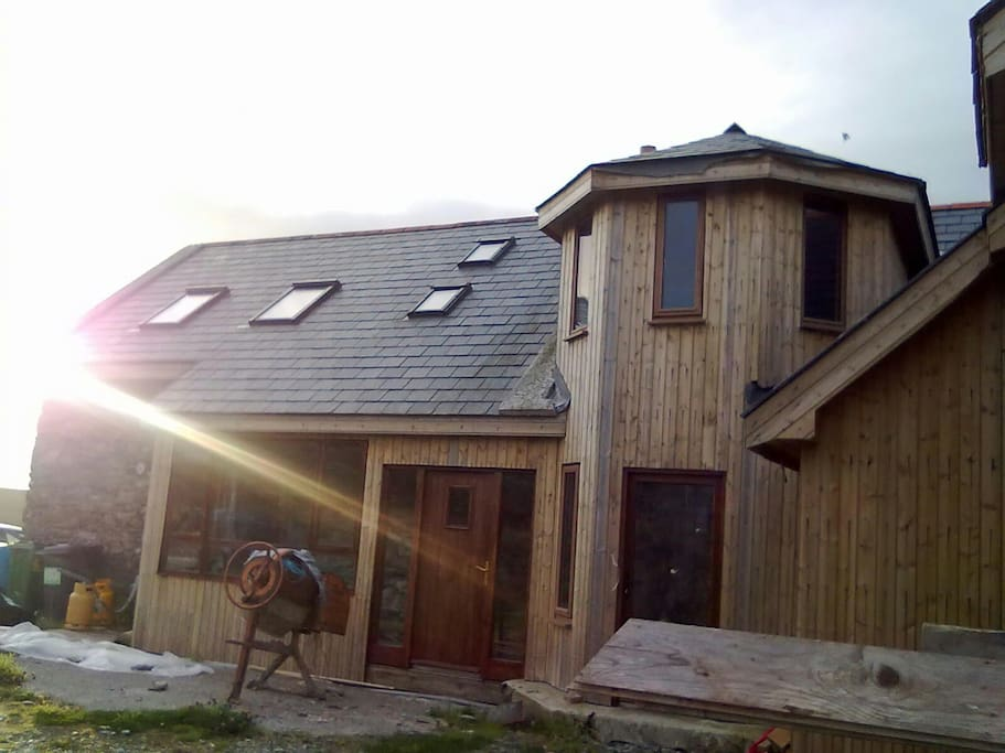 back of my house during construction a few years ago.