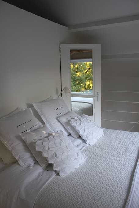 The ensuite bedroom