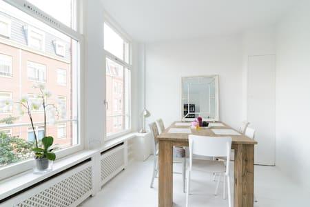 Light & spacious apartment de Pijp - Amsterdam - Huoneisto