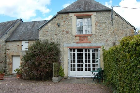 Authentic Cottage for 2 in Normandy - Huis