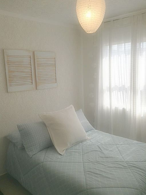 Couples room. Sleeps two.