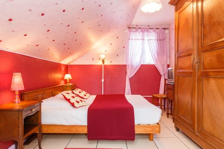 chambre les Coquelicots - Bed & Breakfast
