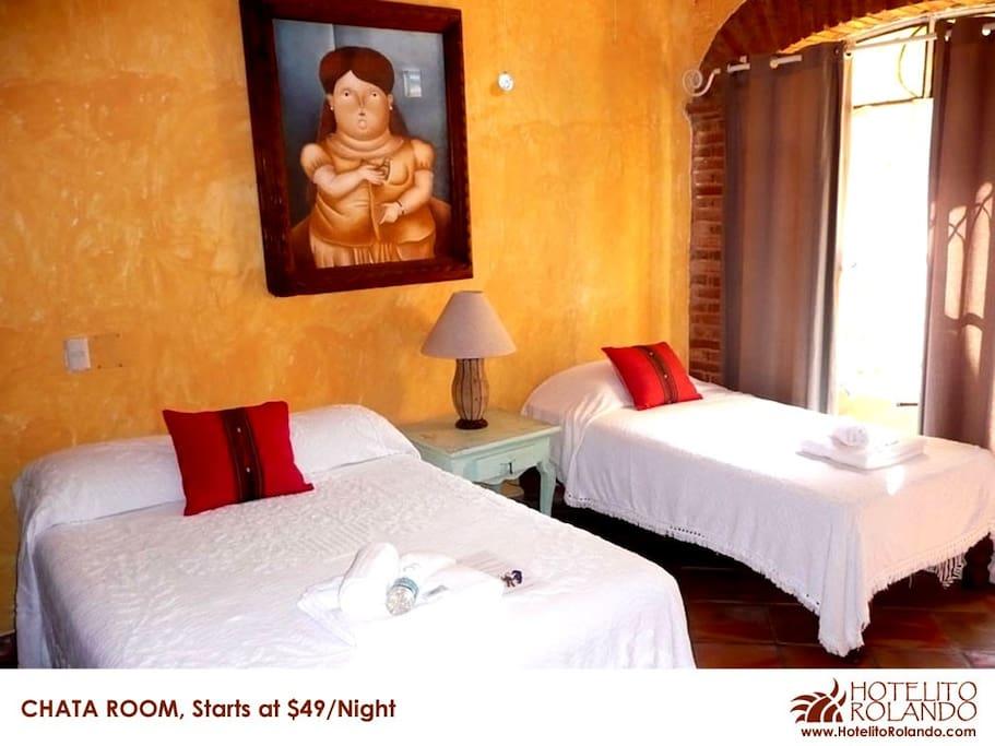 Colourful Mexican Villa