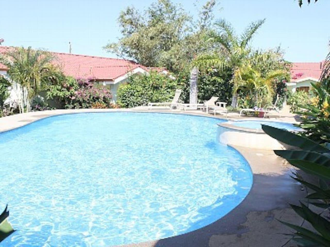 Villa 2BR, Gated Community in Coco
