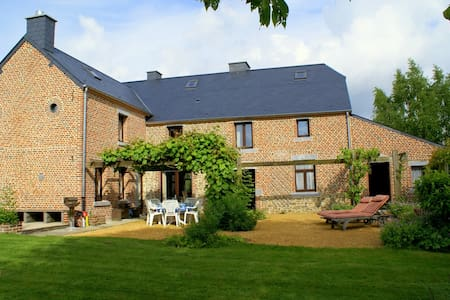Authentic cottage with nice views - Sivry-Rance - Hus