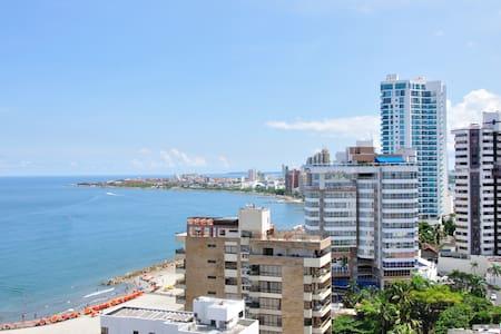 Cozy & Nice 2 bedroom Apt Cartagena - Cartagena