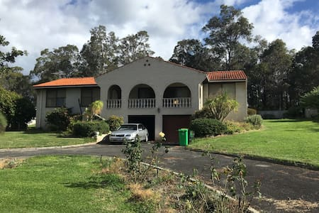 Large property in town - Casa