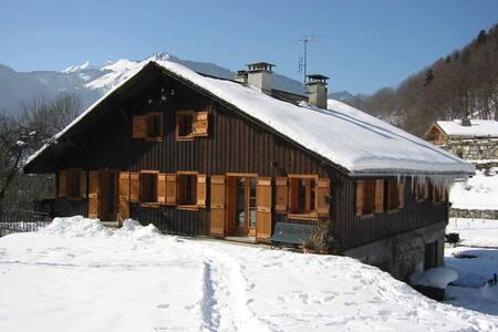 Ski/Morzine/altes Bauernhaus - House
