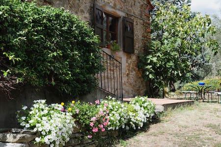 """""""La Badiola"""" stone villa - Castiglion Fiorentino"""