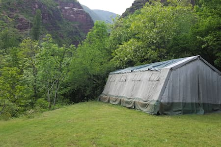 Bivouac d'hotes de La Bergerie du Cians/Chambre d'hôte - Tent
