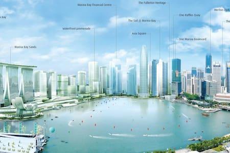 CBD Luxury Condo in Marina Bay! - Condominium