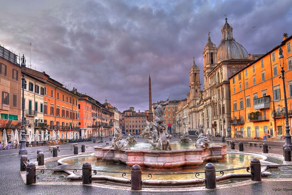 Piazza navona luxury apartment apartments for rent in roma for Airbnb roma