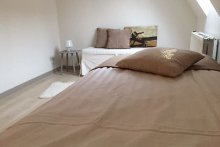 Double room Valentino with shared bathroom - Doesburg - Szoba reggelivel