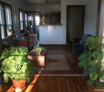 Upper Corktown Observatory - Your own floor + bath - Detroit - Apartment