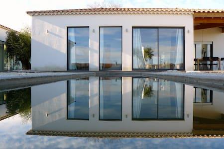 Luxury villa with pool in center of Uzès - Uzès