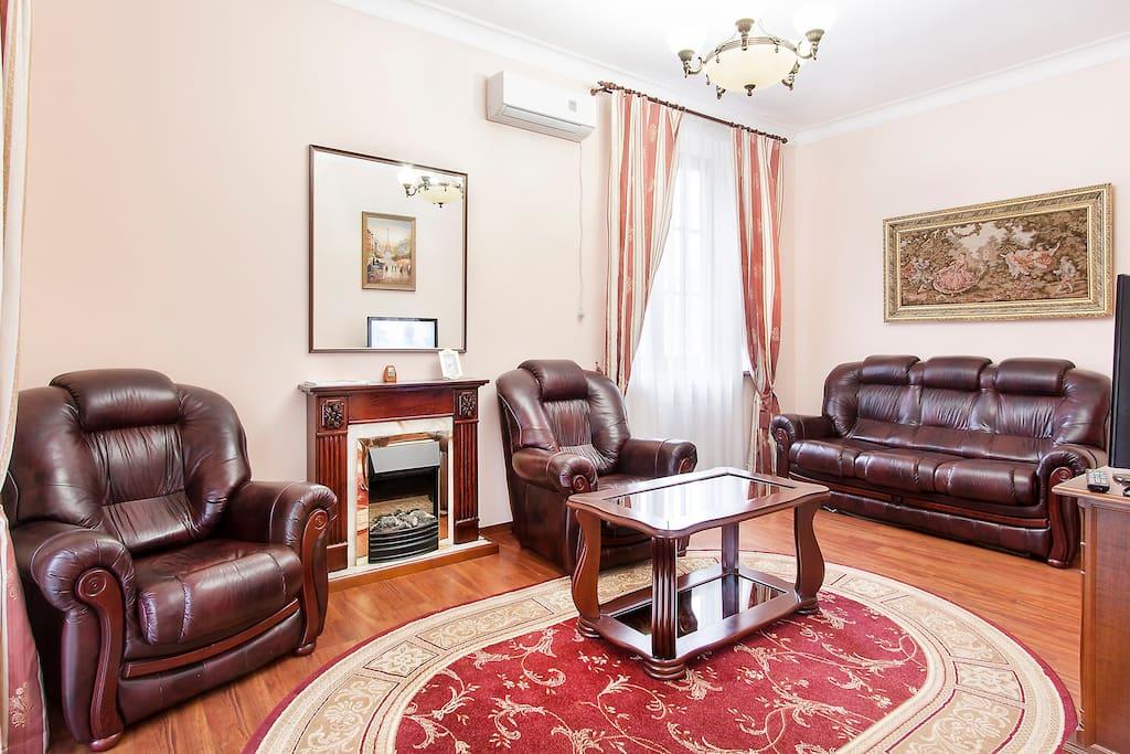 Luxury apartment, jacuzzi
