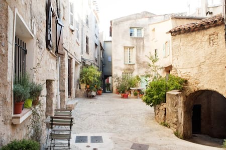 Cute 1BD in medieval village - Fayence - Apartment