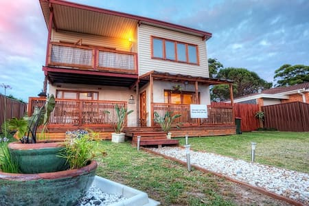 Balinese themed Holiday House  in  Jervis Bay - Callala Beach - Hus