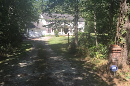 Summerville SC: Home on 3 acres and lakeside - Summerville - Haus