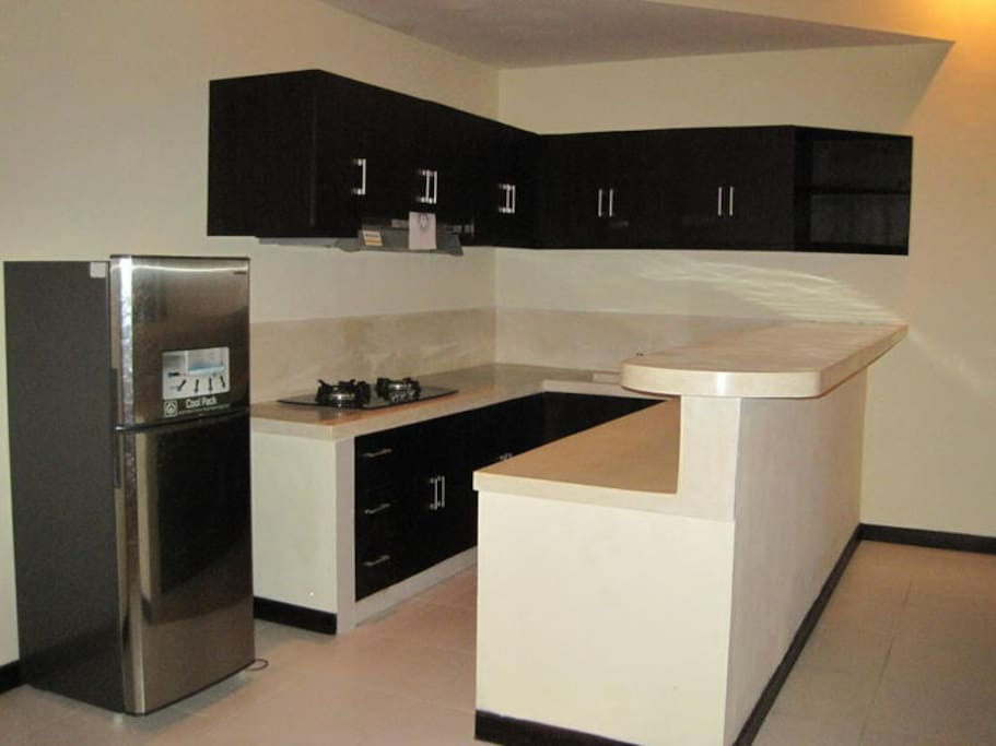modern equipped kitchen