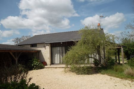 Outhouse with big garden and covered swimming pool - Varennes-sur-Loire - Maison
