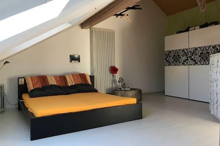Dachgeschosswohnung nähe Flugplatz - Wallerfangen