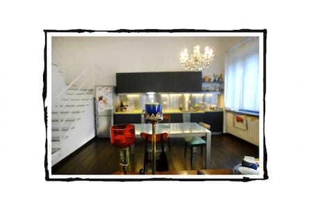 Your Room in a Real Navigli Loft - Milano - Loft