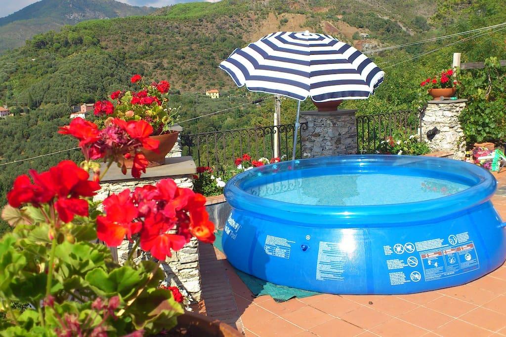 Summer pool.