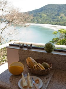 Relaxed and Beautiful Paradise apt - São Sebastião - Apartamento