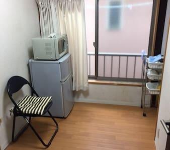 #203 Koenji-Minami, small private room w/ kitchen - Suginami-ku - Apartment