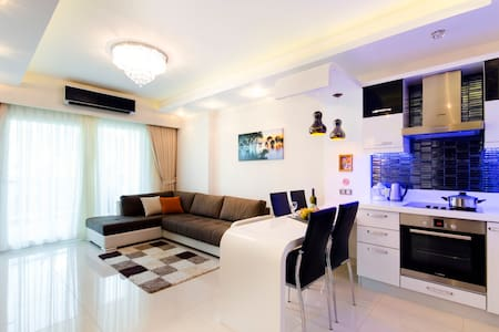 LUXURY APPARTMENT IN 7STARS COMPLEX - Mahmutlar