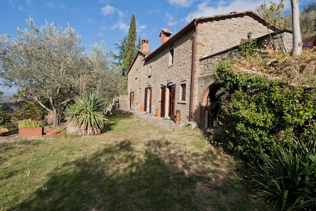 Lovely farmhaus in splendid Tuscany - Appartement