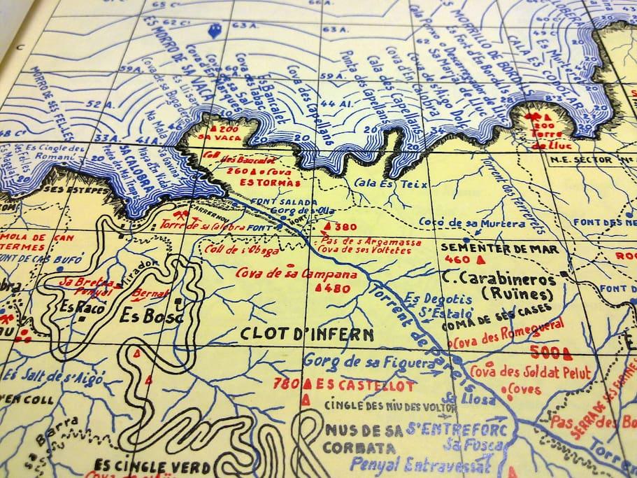 Una antigua cartografía
