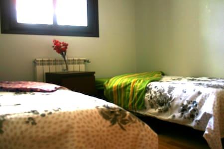 Habitación privada 1-2 pax. Camas individuales - Helt våningsplan