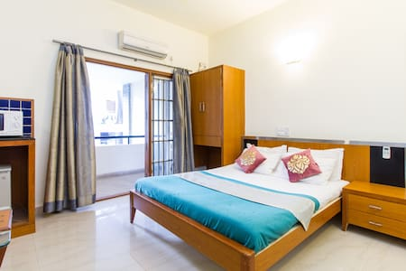 'My Sunny Balcony' studio apts in Central BLR - Bangalore