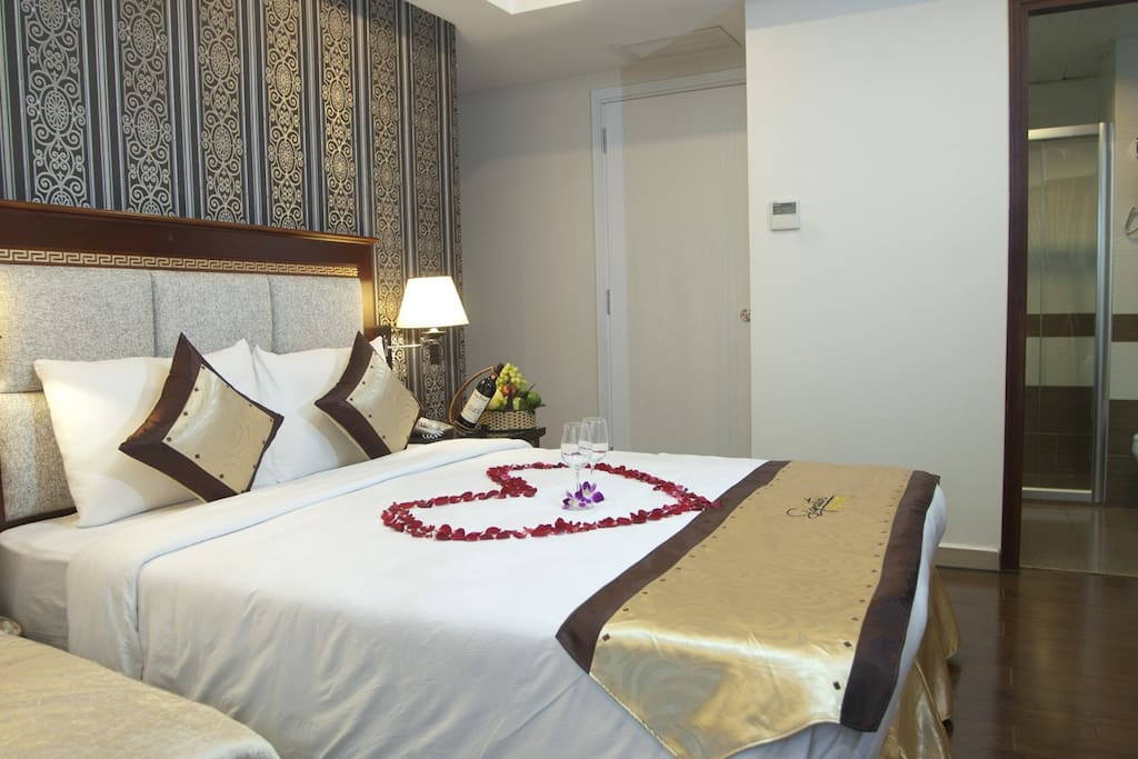Deluxe room in the downtown