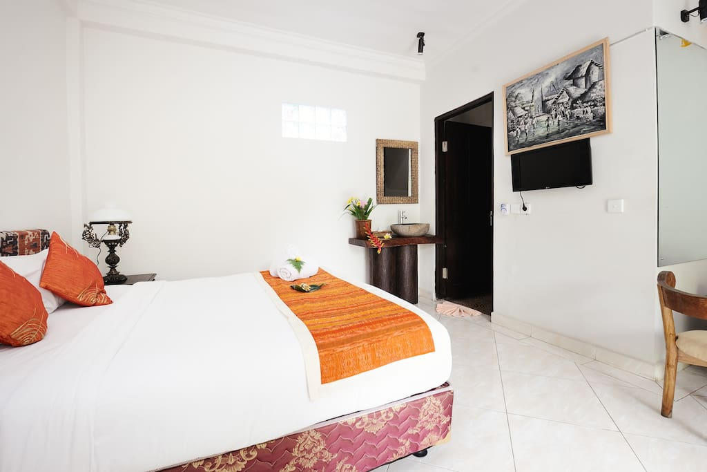 A Traditional Balinese Treat Dodol and Fresh Towels await your arrival