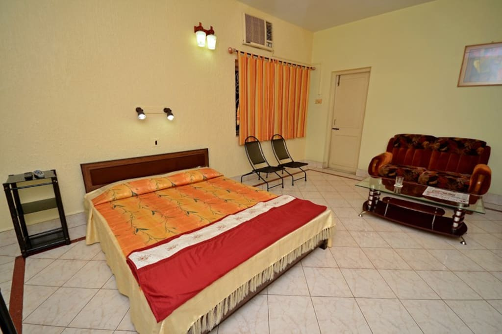 Bed side view-Deluxe Room Type A