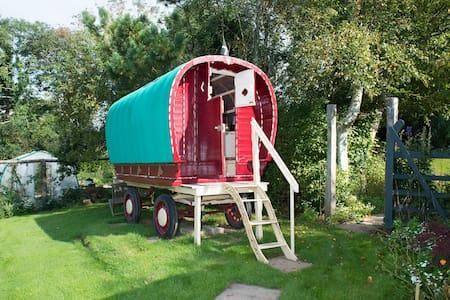 Romany Caravan at Bush Meadows  - Bush - Autre