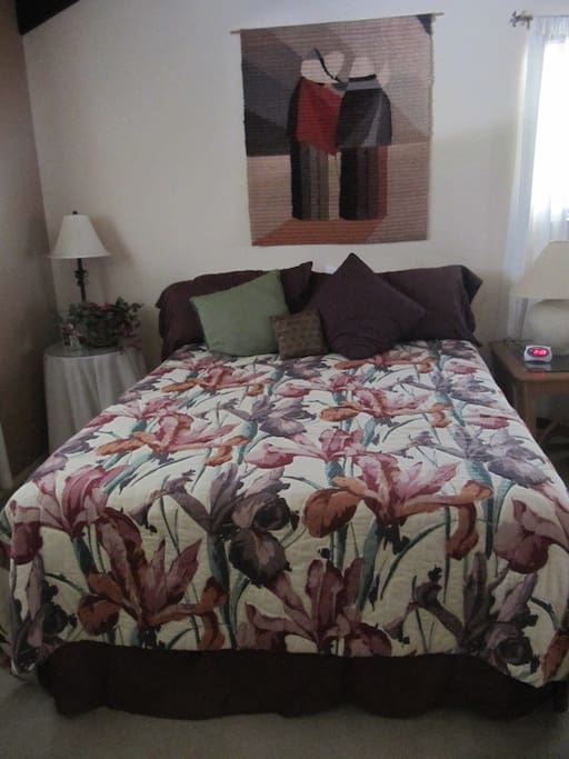 Comfy memory foam mattress topper.