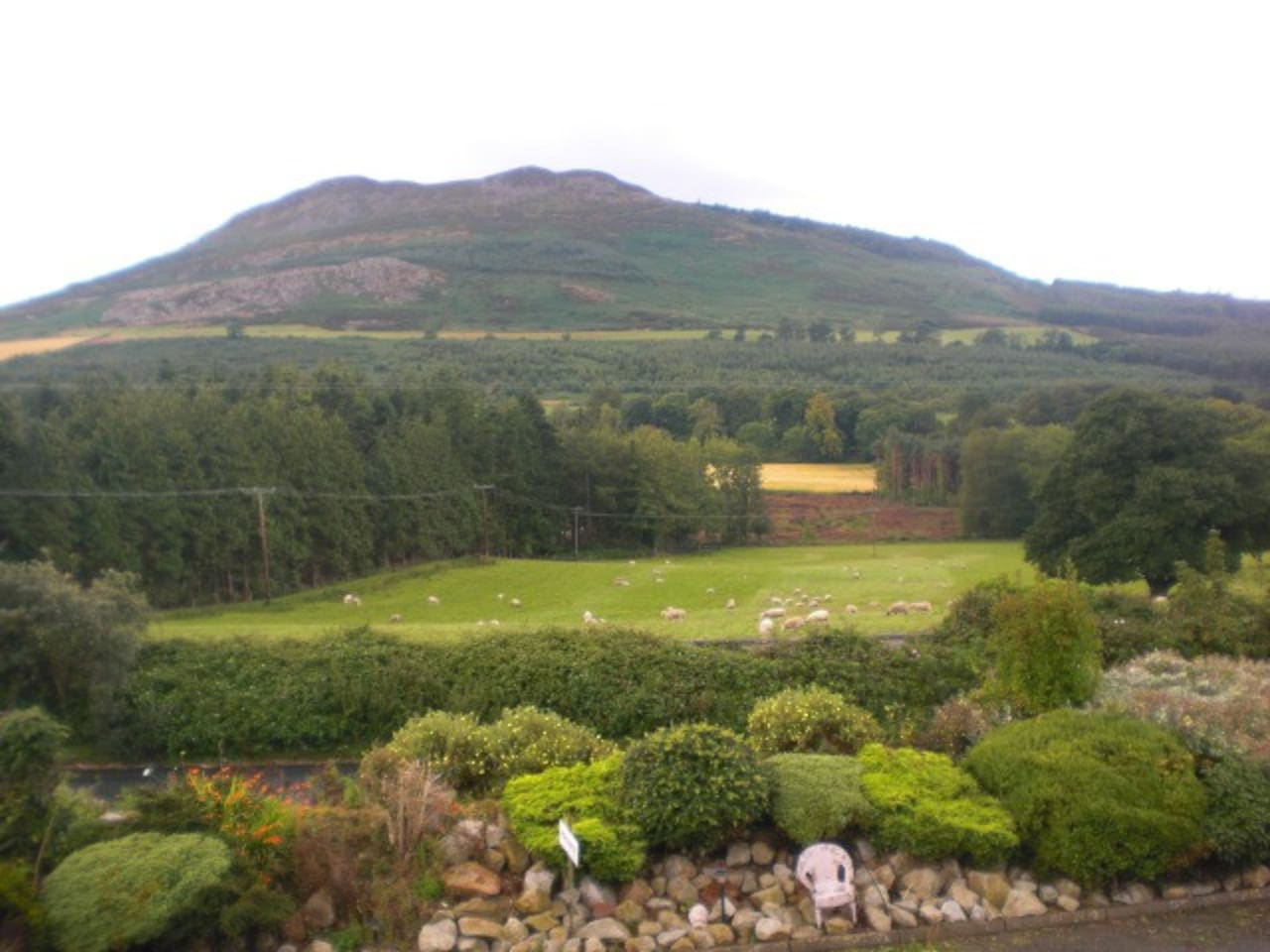 View of the Sugarloaf mountain  from the bedroom window.